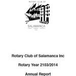Annual report 13 14
